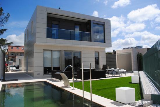 Holzhaus Modulbauweise fertighäuser bauen costa blanca